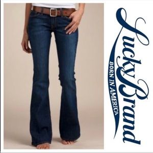 Lucky Brand Zoe flare Jean size 6